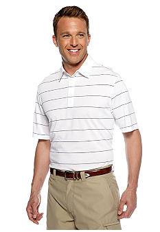 Greg Norman Collection drirelease Stripe Polo