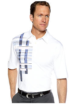 Greg Norman Collection Old Havana Print Polo