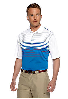 Greg Norman Collection Atlantis Engineered Stripe Polo