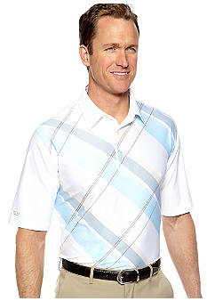 Greg Norman Collection Ocean Club Print Polo