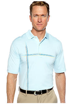 Greg Norman Collection Montagu Bay Print Polo