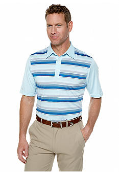 Greg Norman Collection Bahama Embossed Stripe Polo