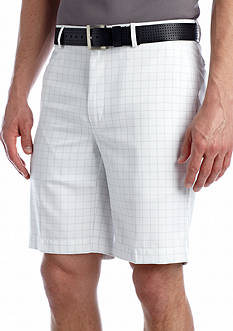 Greg Norman® Collection Flat Front Windowpane Short