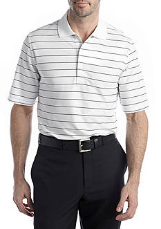 Greg Norman Collection Protek Micro Pique Stripe Polo