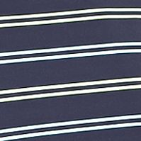 Mens Short Sleeve Polo Shirts: Navy Greg Norman Collection ML75 Short Sleeve Oriental Stripe Polo