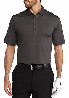 Greg Norman Solid Heathered Polo Shirt