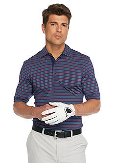 Greg Norman Collection Three-Tone Stripe Polo Shirt