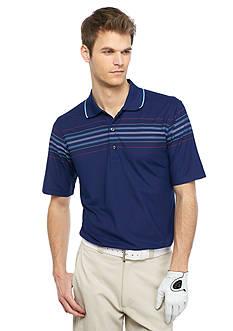 Greg Norman Collection Engineered Stripe Polo Shirt