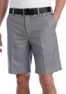 Greg Norman® Collection Flat Front Microfiber Shorts