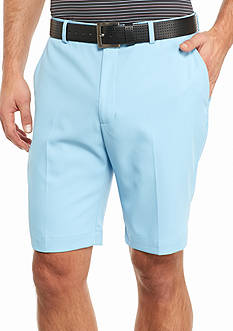 Greg Norman Collection 8-in. Solid Flat Front Shorts