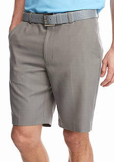 Greg Norman Collection 8-in. Flat Front Plaid Shorts