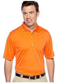 Greg Norman Collection Textured Solid Polo