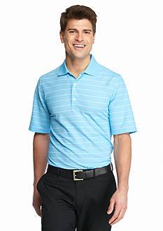 Greg Norman Collection ProTek Micro Pique Stripe Polo Shirt