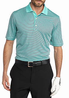 Greg Norman Collection Protek Microlux Mini Stripe Polo Shirt
