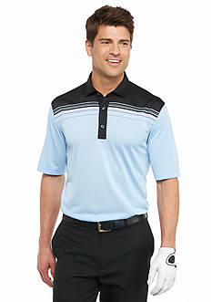 Greg Norman Collection Engineered Stripe Polo Shirt