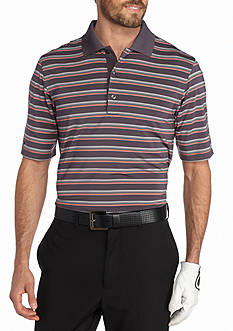 Greg Norman Collection ML75 Stretch Stripe Polo Shirt