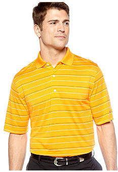 Greg Norman Collection Textured Stripe Polo