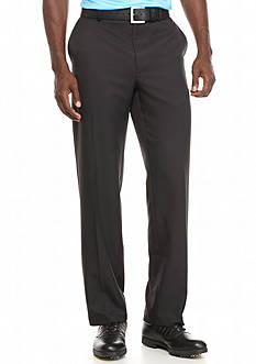 Greg Norman Collection Flat-Front Microfiber Pants