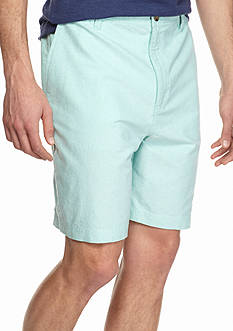 Saddlebred Oxford Rigid Waist Shorts
