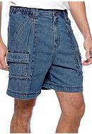 Saddlebred® Denim Hiker Shorts