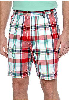 Saddlebred® Plaid Shorts