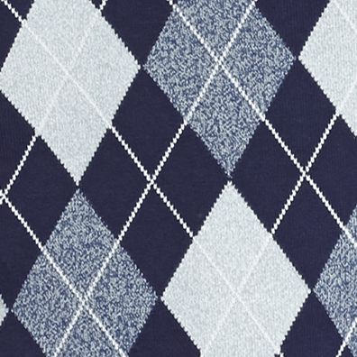 Saddlebred®: Navy Saddlebred Allover Argyle Vest