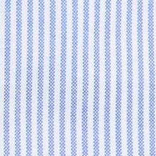 Men: Solid Sale: Blue White Stripe Saddlebred Oxford Dress Shirt