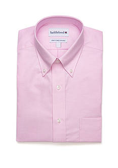 Saddlebred Pink Solid Dress Shirt