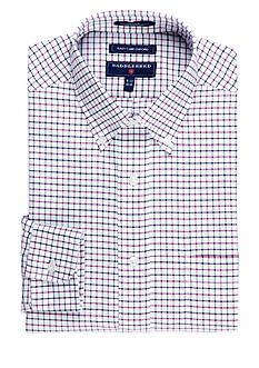 Saddlebred Classic Fit Easy Care Oxford Dress Shirt