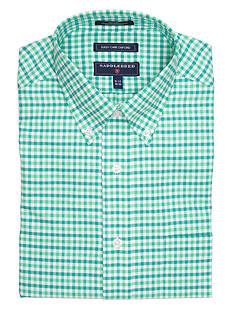 Saddlebred Regular-Fit Oxford Long-Sleeve Dress Shirt