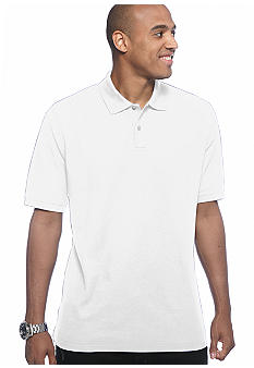 Saddlebred Big & Tall Solid Pique Polo Shirt