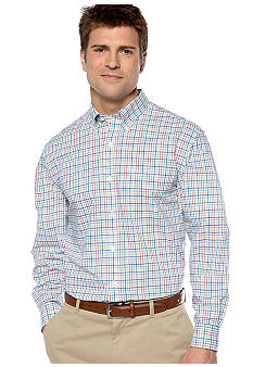 Saddlebred Big & Tall Wrinkle Free Woven Shirt