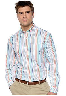 Saddlebred® Big & Tall Wrinkle Free Woven Shirt