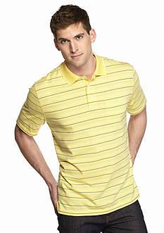 Saddlebred Big & Tall Short Sleeve Stripe Polo Shirt