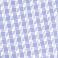 Non Iron: Casual Shirts: Lilac Plaid Saddlebred Big & Tall Short Sleeve Easy Care Novelty Printed Shirt