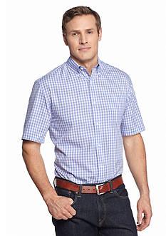 Saddlebred Big & Tall Short Sleeve Easy Care Novelty Printed Shirt