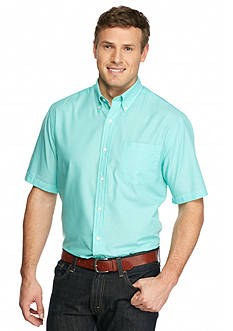 Saddlebred Big & Tall Short Sleeve Easy Care Plain Weave Shirt
