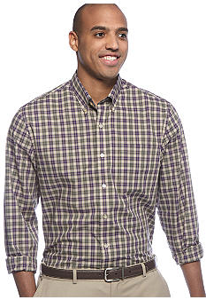 Saddlebred Big & Tall Wrinkle Free Plaid Woven