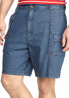 Saddlebred Big & Tall Denim Hiker Shorts
