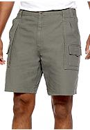 Saddlebred® Big & Tall Canvas Hiker Shorts
