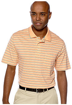 Saddlebred Stripe Jersey Pocket Polo