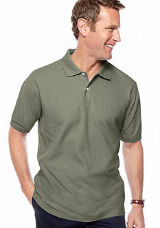 Saddlebred Solid Pique Polo