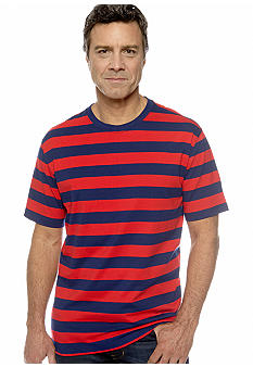 Saddlebred Contrast Stripe Tee