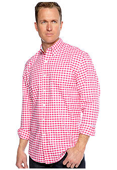 Saddlebred Gingham Oxford Shirt