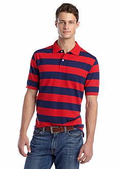 Saddlebred® Stripe Pique Polo