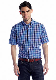 Saddlebred® Short Sleeve Easy Care Woven Shirt
