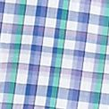 St Patricks Day Outfits For Men: Purple Plaid Saddlebred Short Sleeve Easy Care Woven Shirt