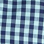 St Patricks Day Outfits For Men: Docker/ Blue Saddlebred Short Sleeve Gingham Easy Care Woven Shirt
