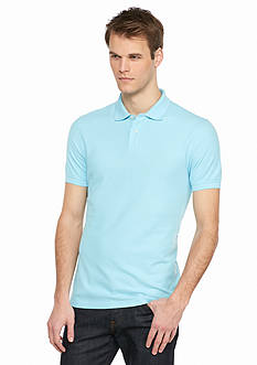 Saddlebred 1888 Fashion Tailored Short Sleeve Polo Shirt