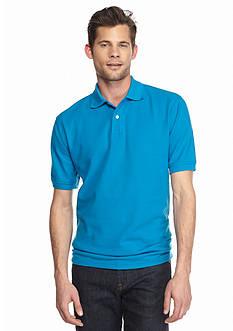 Saddlebred Short Sleeve Solid Pique Polo Shirt